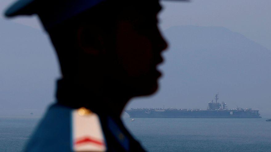 Zum ersten Mal seit 1975: US-Flugzeugträger in Vietnam angekommen