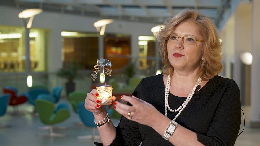 Real stuff: European Commissioner Cretu's candle in the wind