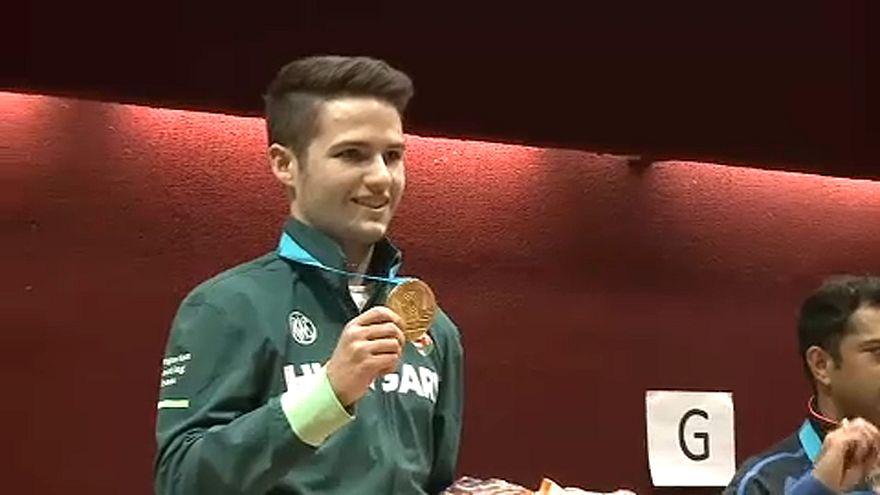 Magyar sportlövő aranyérem a világkupán