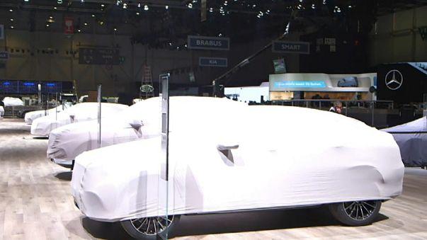 Ginevra: ultimi preparativi per il Salone dell'Auto