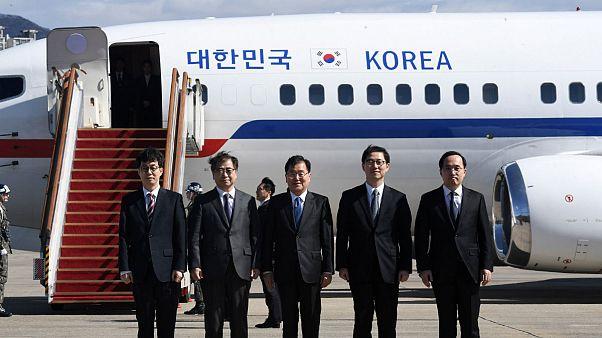 South Korean delegation