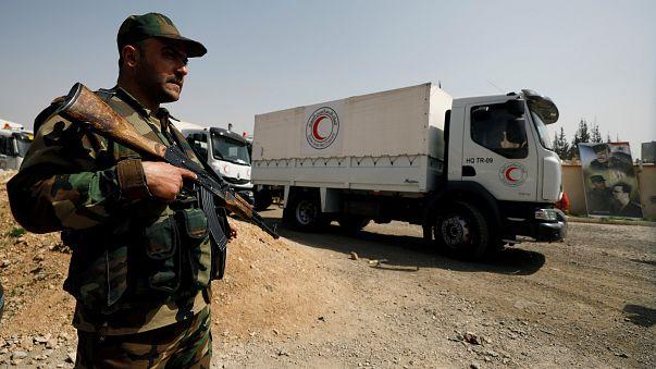 Ajuda humanitária entra finalmente em Ghouta Oriental