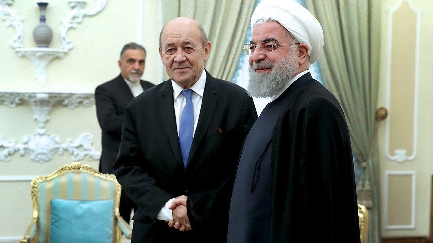 A Téhéran, Le Drian doit amadouer les Iraniens