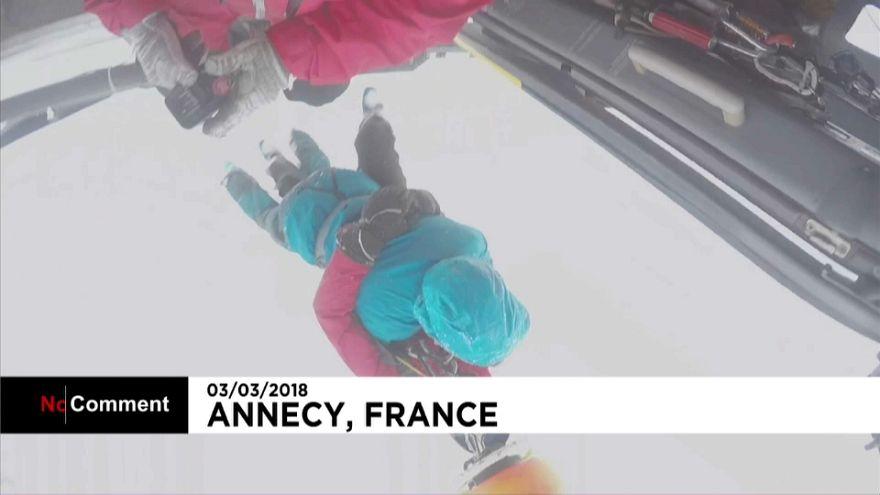 Спасательная операция в Альпах