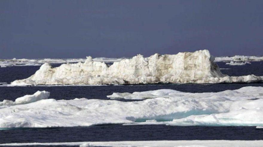 Europa friert, aber 20°C in der Arktis
