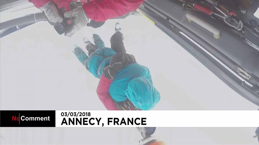 Take a ride with the Alpine Rescue team in the French Alps
