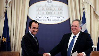 Κυπριακό και Τουρκία στο επίκεντρο συνομιλιών των ΥΠΕΞ Ελλάδας-Κύπρου