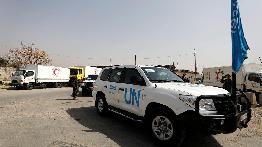 """أطفال الغوطة الشرقية يكفنون بأكياس """"الأمم المتحدة"""""""