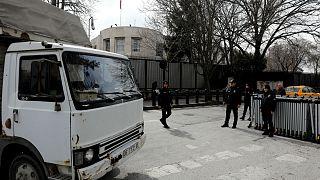 Άγκυρα: Κλειστή η πρεσβεία των ΗΠΑ λόγω απειλής ασφαλείας