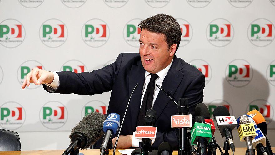 """Renzi dankt ab: """"Garant für politische Moral"""""""