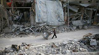 حفلة راقصة في مجلس حقوق الإنسان خلال جلسة عن الغوطة الشرقية