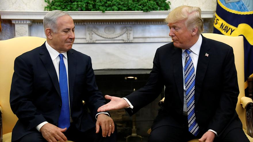 ترامب قد يسافر إلى اسرائيل لتدشين السفارة الأمريكية في القدس