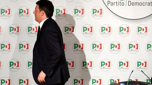 Matteo Renzi koltuğunu bıraktı