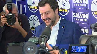 Matteo Salvini reta a la Unión Europea