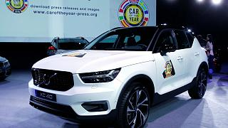 Volvo XC40, winner of the Car of the Year award