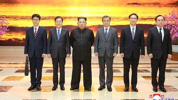 Главы двух Корей встретятся на границе