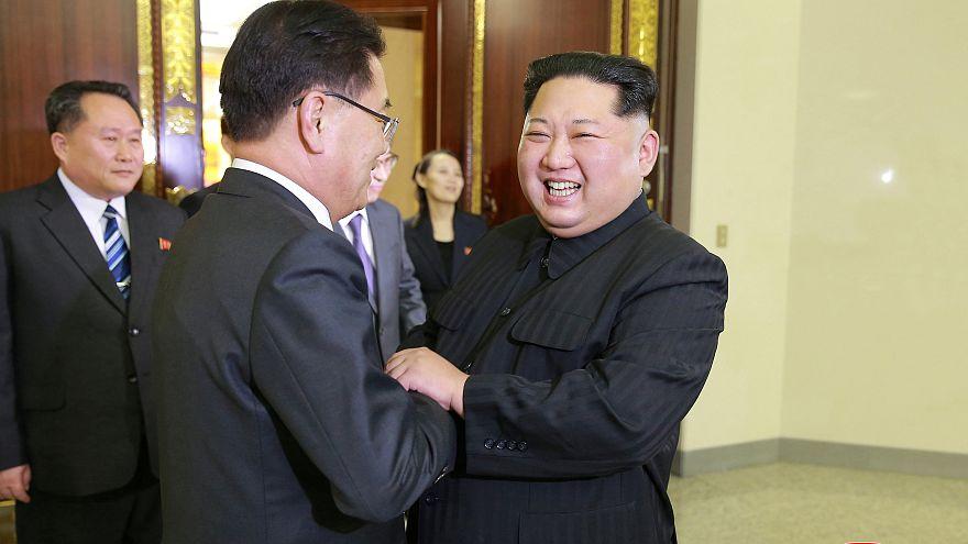 كيم جونغ أون يريد كتابة تاريخ جديد مع كوريا الجنوبية