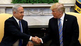 Netanjahu bei Trump, aber Probleme zuhause bleiben