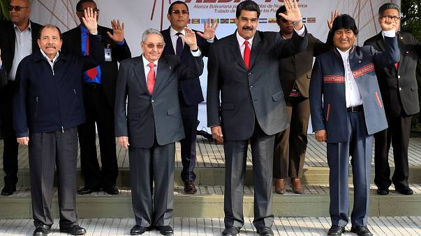 Los 'hermanos' revolucionarios recuerdan a Hugo Chávez
