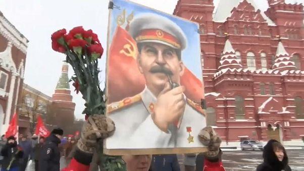 Stalin 65'inci ölüm yıldönümünde anıldı