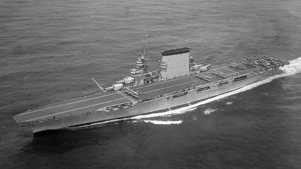 Japonya'nın batırdığı ABD savaş gemisine 76 yıl sonra ulaşıldı