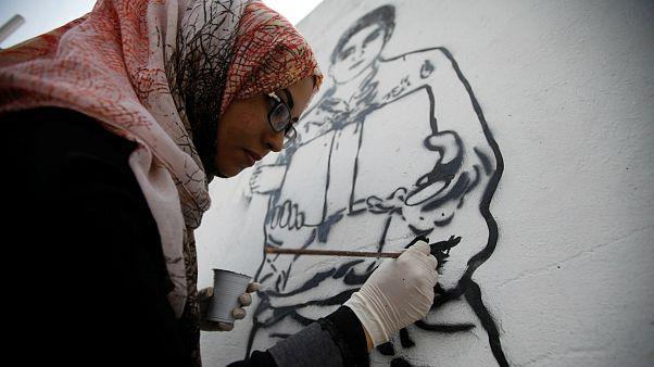 هیفاء سبیع، هنرمند یمنی
