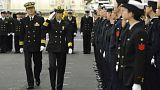 A japán hadsereg első női parancsnoka