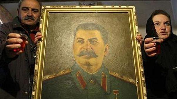 Ρωσία: Συγκέντρωση στην μνήμη του Ιωσήφ Στάλιν