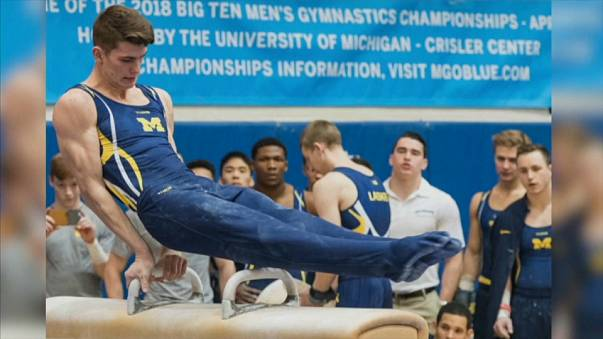 Jacob Moore claims he was sexually abused by Nassar