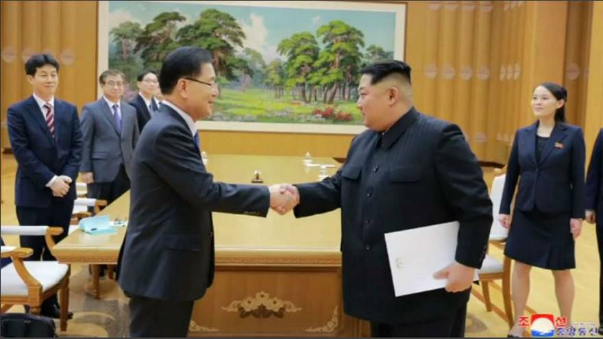 The talking thaw: North and South Korea
