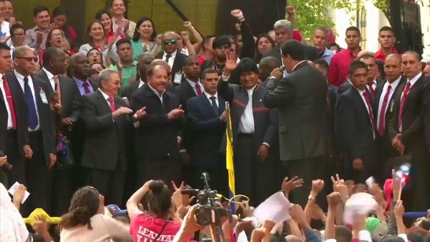 L'Alba fête Hugo Chavez et soutient Nicolas Maduro