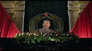 Mosca: omaggio a Stalin