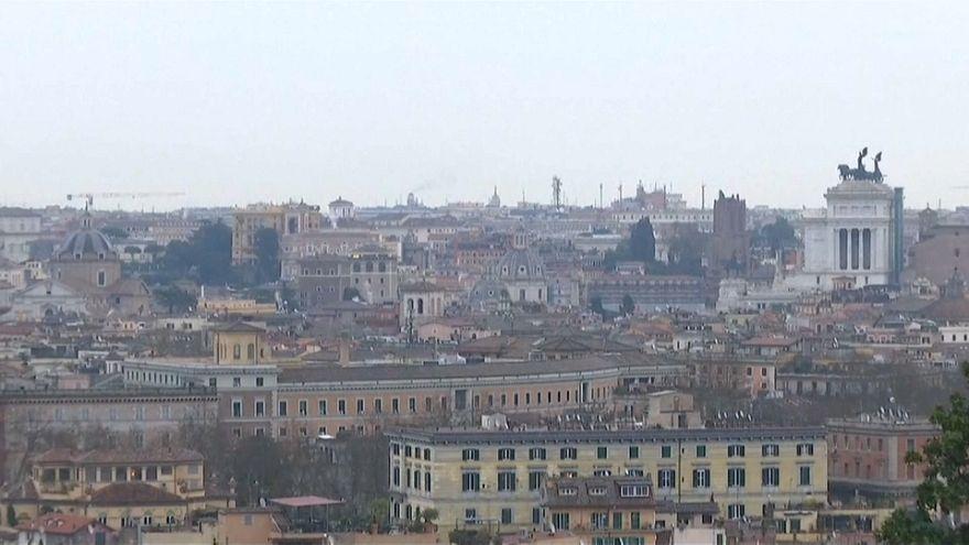 Vista panoramica su Roma.