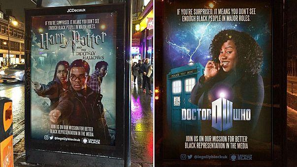 A black Harry Potter? UK activists' diversity campaign goes viral