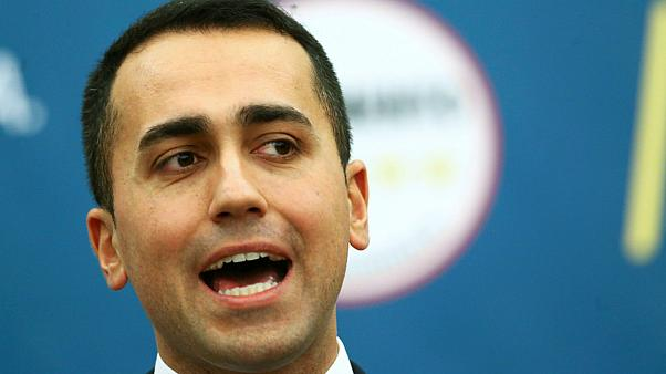 Five-Star Movement leader Luigi Di Maio