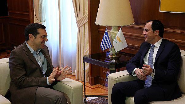 Οι τουρκικές προκλήσεις στις συναντήσεις Χριστοδουλίδη με Τσίπρα και Παυλόπουλο