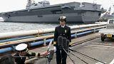 شاهد: اليابان تعين أول قائدة لمجموعة سفن حربية