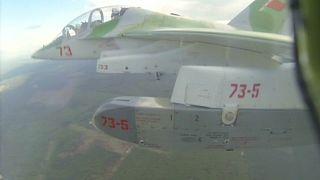 طائرة حربية روسية في سوريا