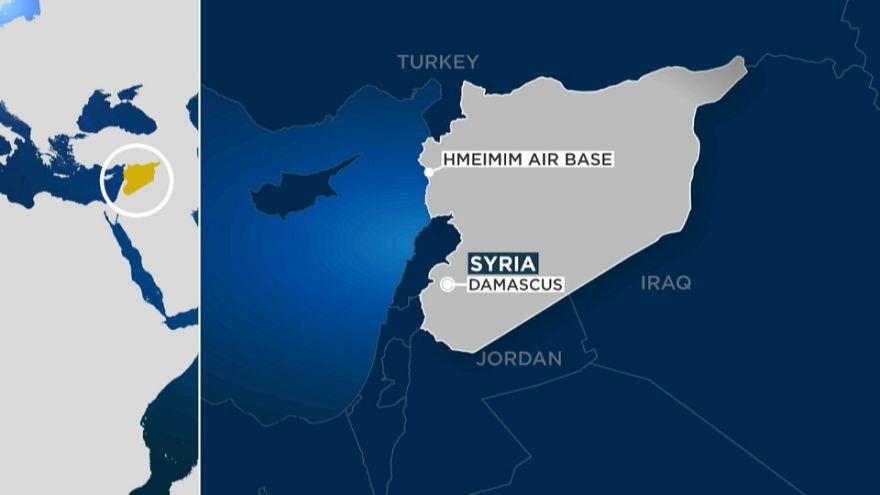 Un avión militar ruso con 32 personas se estrella en Siria