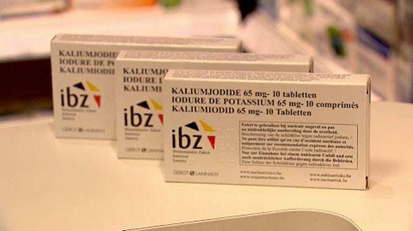 Jod-Pillen gegen eventuelle Verstrahlung in Belgien