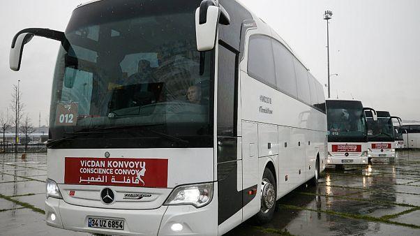 'Kadınlar İçin Vicdan Konvoyu' yola çıktı