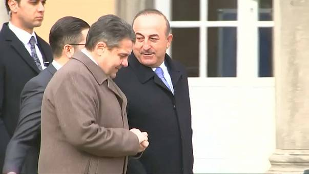 Çavuşoğlu Almanya'da Müslim'in iadesini istedi