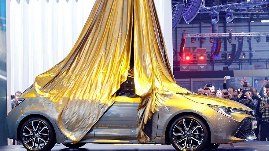 Nuage de diesel au Salon international de l'automobile de Genève