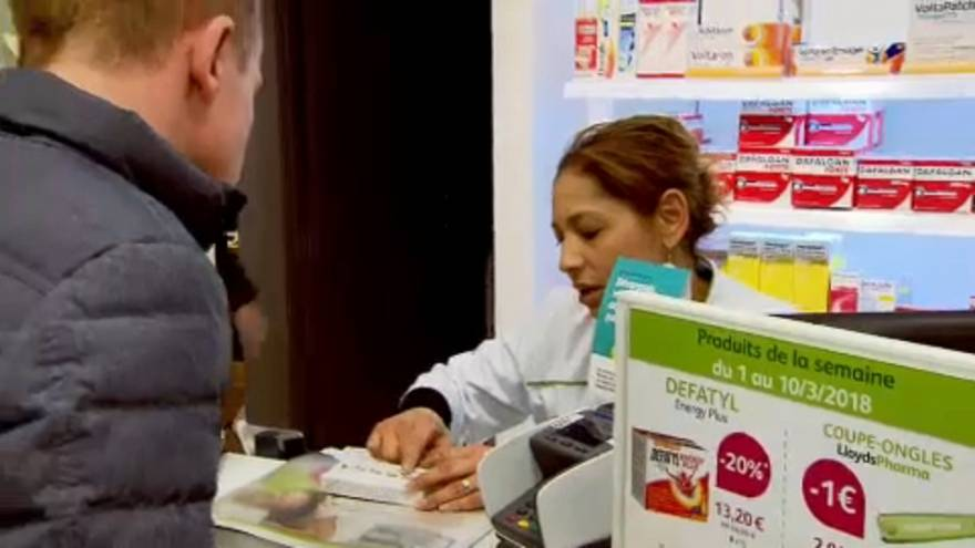 Comprimidos de iodo disponíveis nas farmácias