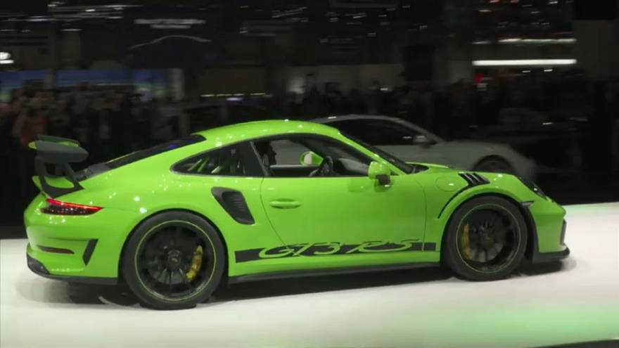 Sportwagen auf dem Genfer Autosalon
