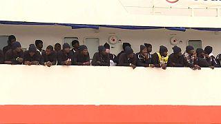 Le navire humanitaire affrété par SOS Méditerranée arrivé à bon port