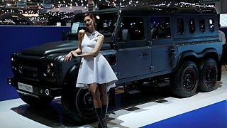 گشایش نمایشگاه خودرو ژنو