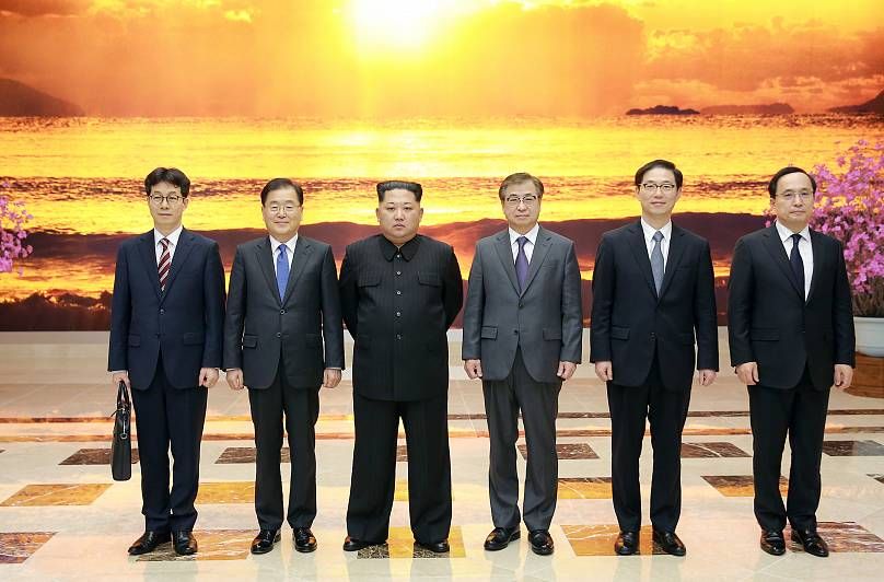 Foto: The Presidential Blue House/Yonhap via REUTERS