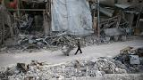 Patients treated after suspected chemical attack in Eastern Ghouta