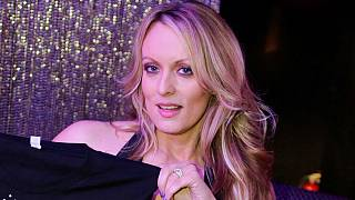 Adult-film actress Clifford, also known as Stormy Daniels, poses for pictur